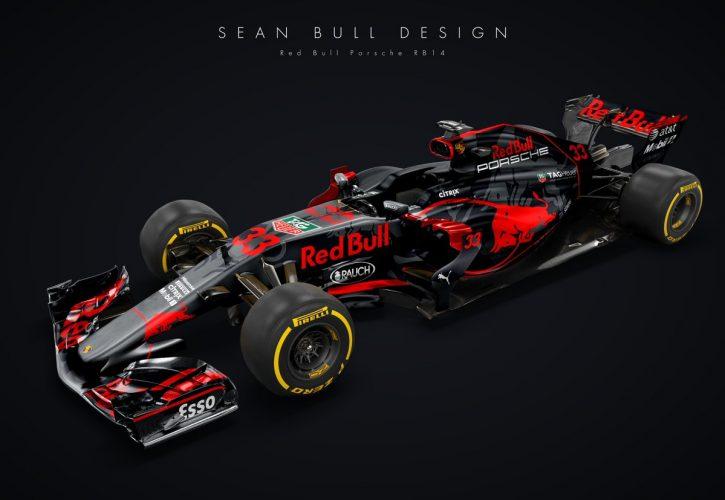 Porsche F1 concept