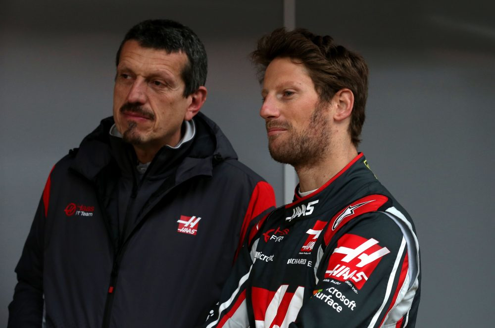 Romain Grosjean-Guenther Steiner