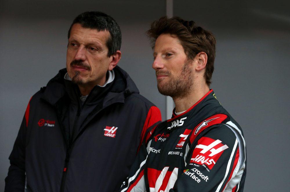 Romain Grosjean-Guenther Steiner