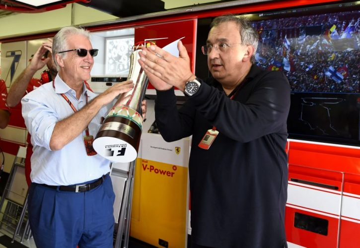 Sergio Marchionne-Piero Lardi Ferrari