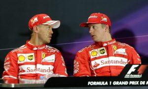 Kimi has a special gift for Sebastian Vettel's 30th birthday