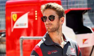 Haas' Romain Grosjean unveils his 2018 lid