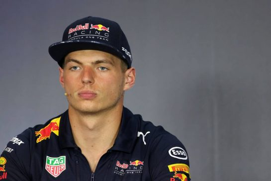 Max Verstappen (NLD) Red Bull Racing 06.07.2017. Formula 1 World Championship, Rd 9, Austrian Grand Prix, Spielberg, Austria, Preparation Day.- www.xpbimages.com, EMail: requests@xpbimages.com - copy of publication required for printed pictures. Every used picture is fee-liable. © Copyright: Charniaux / XPB Images