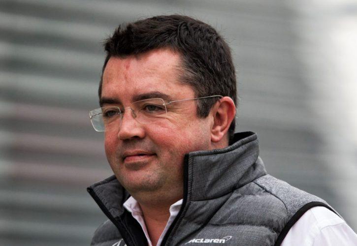 Eric Boullier-McLaren
