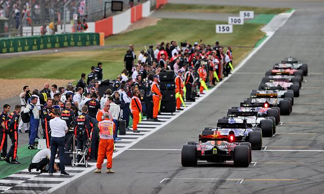British Grand Prix, Starting Grid