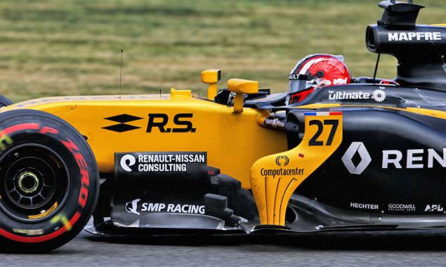 British Grand Prix, Nico Hulkenberg, Renault