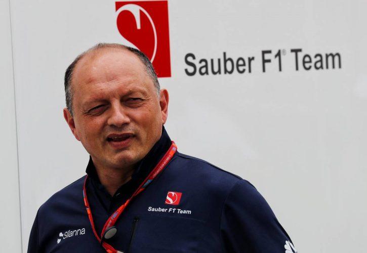 Frederic Vasseur (FRA) Sauber F1 Team