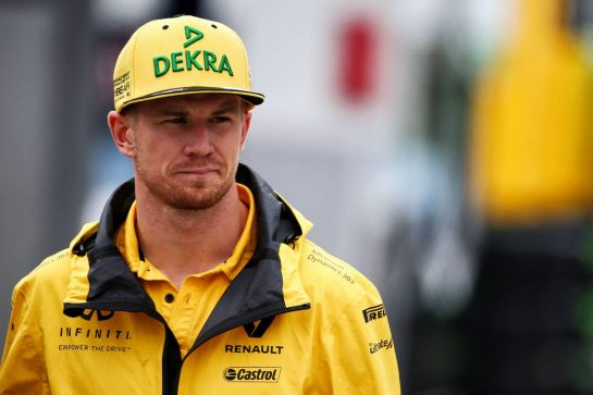 Nico Hulkenberg (GER) Renault Sport F1 Team.