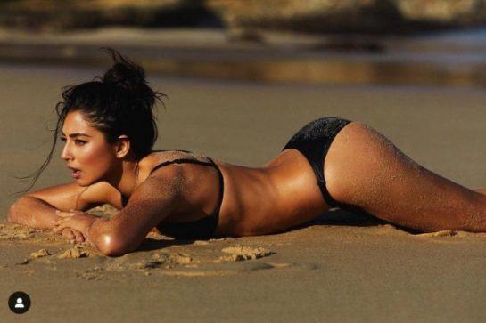 Jessica Gomes is rumoured to be dating Daniel Ricciardo