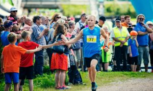 Bottas runs for the Starlight Children's Foundation