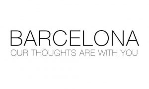 Fernando Alonso stands with his countrymen in Barcelona