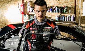 Hulkenberg meets world class drifter Bartek Ostalowski in epic challenge