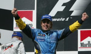 Alonso becomes F1's youngest winner