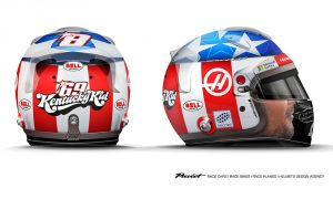 Grosjean's helmet tribute to Nicky Hayden