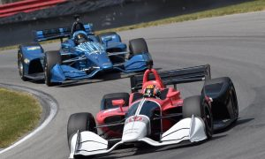 IndyCar veterans test new road-course kit