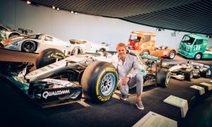 Video: It's a homecoming for Nico Rosberg's title winning car