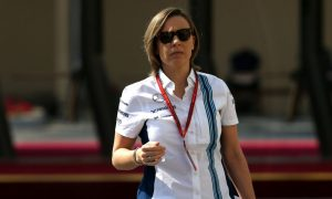 Claire Williams: 'Never sat at a table with Alonso!'