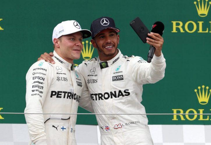Valtteri Bottas-Lewis Hamilton