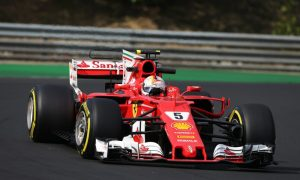 Vettel keeps Ferrari on top - Kubica puts in the miles