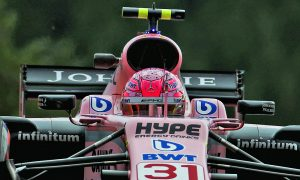 Strong start for Ocon as Perez struggles at Spa