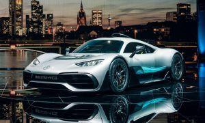 Mercedes' 1,000 bhp hypercar - an F1 car for the road!