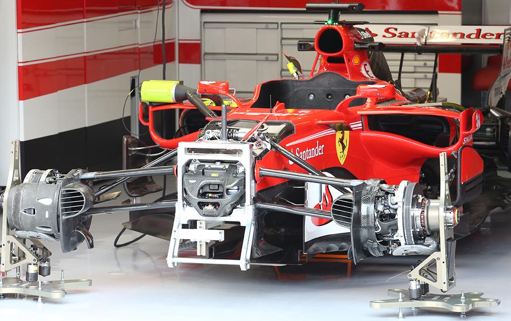 2017 Ferrari F1 SF70H at Monza