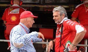 Lauda banking on Ferrari in Singapore