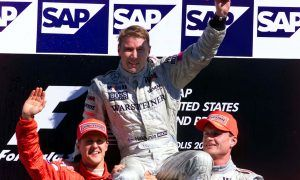 Mika Hakkinen bows out in fashion from F1