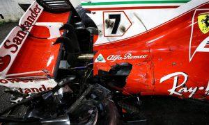 Raikkonen helpless in Ferrari double disaster