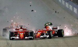 Singapore retirement won't cost Vettel an engine