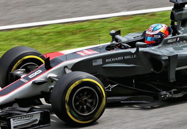 Romain Grosjean, Haas F1 Team, Malaysian Grand Prix