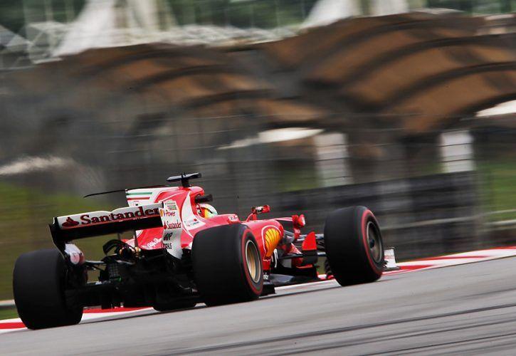 Sebastian Vettel, Ferrari, Malaysian Grand Prix