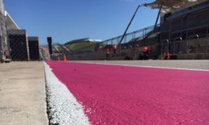 The US GP goes pink for Breast Cancer Awareness Month