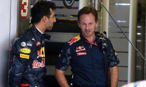 Ricciardo gets a clear warning from Christian Horner