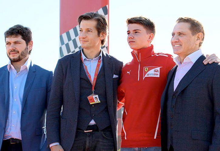 Robert Shwartzman, Ferrari Driver Academy