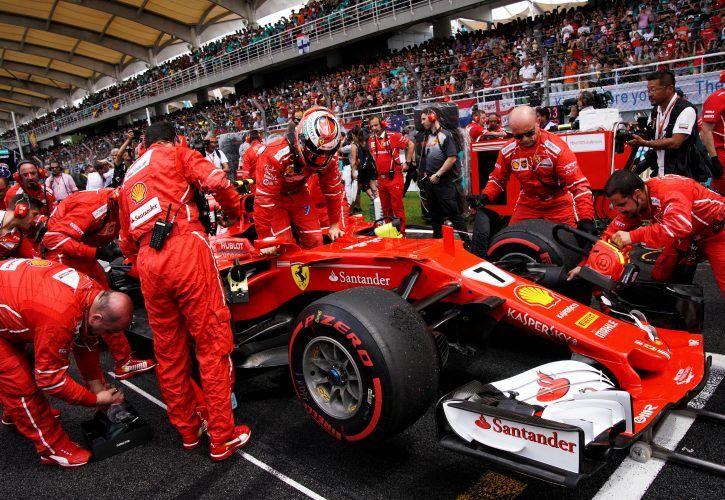 Kimi Raikkonen, Ferrari, Malaysian Grand Prix