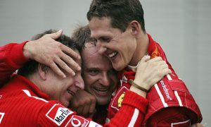 Schumacher surpasses Fangio with sixth crown