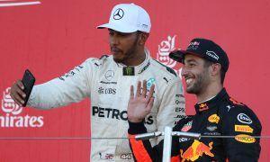 Hamilton: 'A privilege to have Ricciardo as a team mate'