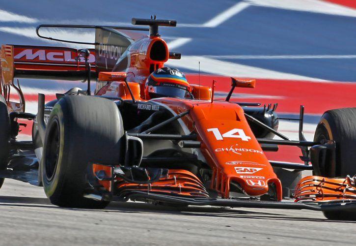 Fernando Alonso, McLaren-Honda, United States Grand Prix