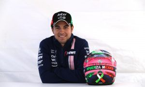 Sergio Perez pays tribute to Mexico with special helmet