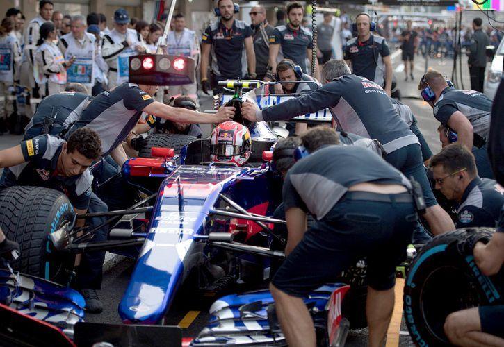 Pierre Gasly, Toro Rosso, Mexican Grand Prix