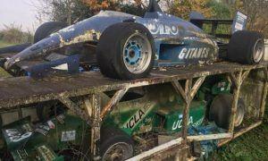 A strange Formula 1 barn find