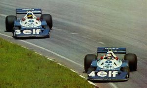 Tyrrell boys drift their way around Interlagos