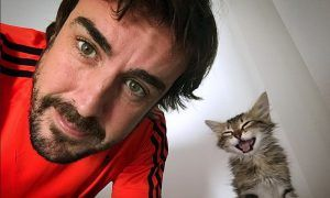 Fernando is too cool for cats!