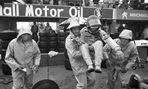 A dry sole for Villeneuve, but never cold feet