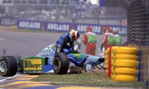 A maiden crown, but not Schumacher's finest hour