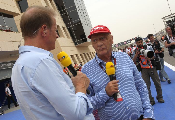 Niki Lauda quits TV gig with German broadcaster RTL