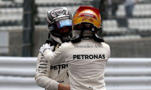 Bottas impressed by Hamilton's work ethic