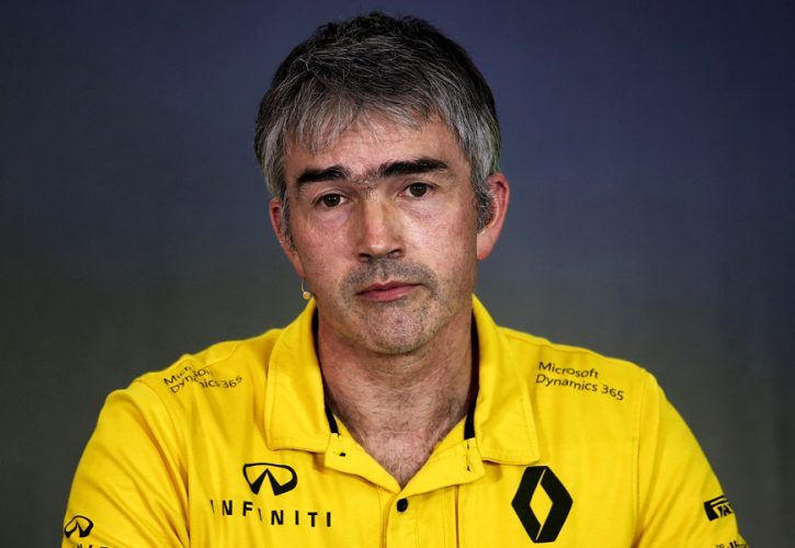 Nick Chester, Renault