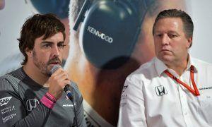 Brown denies reports of McLaren/Alonso split